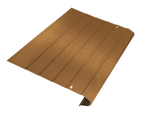 Copper gutter protection
