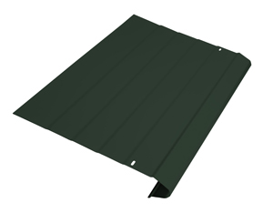 Forest Green gutter protection