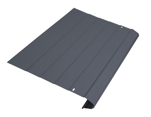 Slate Grey gutter protection